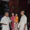 Shilpa Shetty with her son at the Isckon Temple on Janmashtami