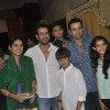 Rohit Roy and Ronit Roy at Isckon Temple on Janmashtami