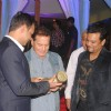 Producers, Siddarth Kumar Tewary and Rahul Kumar Tewary with Salim Khan at the Success Bash