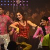 Bruna Abdalah performs at the Dahi Handi Celebration in Mumbai