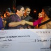 Vidya Balan gives a generous donation for the Dahi Handi Celebration