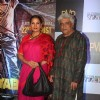 Shabana Azmi and Javed Akhtar at the Special Screening of Katiyabaaz