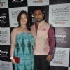Urvashi Sharma and Sachin Joshi were at the Lakme Fashion Week Winter/ Festive 2014 Day 3
