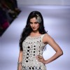 Sonal Chauhan walks the ramp at the Lakme Fashion Week Winter/ Festive 2014 Day 3
