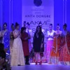 Anita Dongre showcases her collection at the Lakme Fashion Week Winter/ Festive 2014 Day 4