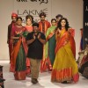 Gaurang showcases his collection with Taapsee Panu at the Lakme Fashion Week Winter/ Festive 2014 Da