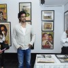 Kunal Kapoor was seen cheking around the Exhibition of Vintage Film items