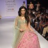 Nargis Fakhri walks the ramp for Anushree Reddy at the Lakme Fashion Week Winter/ Festive 2014 Day 5