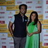 Sulaiman Merchant poses with wife at Shaan's Live Concert