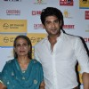 Siddharth Shukla poses with his mother at Shaan's Live Concert