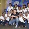 Sidharth Malhotra poses with Kids of Ashray NGO