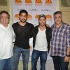 Abu Jani, Sidharth Malhotra, Varun Dhawan and Sandeep Khosla at Ashray NGO