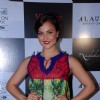 Elli Avram poses for the media at Vikram Phadnis Bash