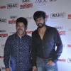 Jay Bhanushali with a friend at Mandate Model Hunt 2014