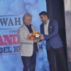 Ramesh Sippy being felicitated at Mandate Model Hunt 2014