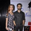 Apurva and Shilpa Agnihotri pose for the media at the Album Launch of Khushnuma