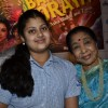 Asha Bhosle with granddaughter Zanai at the Album Launch Of 'Bappa Moriya'
