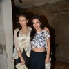 Roshni Chopra poses with a friend at the Launch of her Fashion Label
