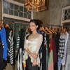 Roshni Chopra poses for the media at the Launch of her Fashion Label