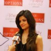Rubina Dilaik giving media bytes at Option's Mall before the Telly Calender shoot in Jordan