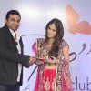 Dimple Jhangiani addresses the media at the Bawree Launches 'Be Club'
