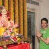 Tusshar Kapoor poses for the camera on Ganesh Chaturthi