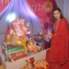 Rani Mukherjee offering her prayers to Lord Ganesha