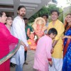 Sonali Bendre at the Visarjan of Lord Ganesha