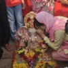 Ameesha Patel offering her prayers to Lord Ganesha