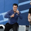 Salman Khan performs at the Music Launch of Dr. Cabbie in Canada
