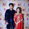Anas Rashid and Deepika Singh pose for the camera