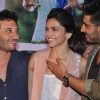 Homi Adajania, Arjun Kapoor and Deepika Padukone at the Press Meet of Finding Fanny