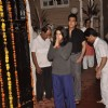 Ekta Kapoor prays to Lord Ganesha at the Visarjan