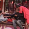 Dadi gives a Jadoo ki Pappi to Arjun Kapoor on Comedy Nights with Kapil