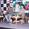 Homi Adajania addressing the audience at the Promotions of Finding Fanny in Delhi