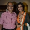 Shilpa Shetty poses with a guest at the Promotion of Iosis Medi Spa