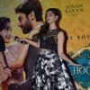 Sonam Kapoor shakes a leg at the Music Launch of Khoobsurat