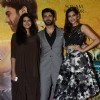 Sonam Kapoor and Fawad Khan with Rhea Kapoor at the Music Launch of Khoobsurat