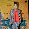 Sunidhi Chauhan poses for the media at the Music Launch of Khoobsurat