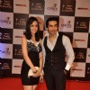Sanaya Irani and Mohit Sehgal were seen at the Indian Telly Awards