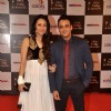 Yash Tonk and Gauri Tonk at the Indian Telly Awards