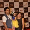 Shakti Anand and Sai Deodhar with their daughter at the Indian Telly Awards