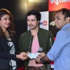 Priyanka Chopra makes a donation at the Promotions of Mary Kom at Reliance Outlet