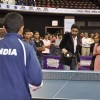 Abhishek Bachchan playing Table Tennis at Asian Junior TT Championship