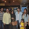 Bipasha Basu and Harman Baweja pose with family at the Special Screening of Creature 3D