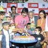 Vivek Oberoi cuts his Birthday cake with Cancer Patients