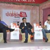Ashutosh Rana interacting at Aaj Tak Panchayat Talk Show