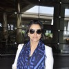 Asin Thottumkal poses for the media at Airport
