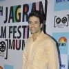 Tusshar Kapoor poses for the media at 5th Jagran Film Festival Mumbai