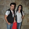 Sanjay Kapoor with wife at the Special Screening of Khoobsurat